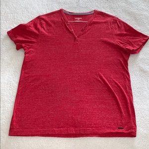 Men's Express Henley T-Shirt - Large